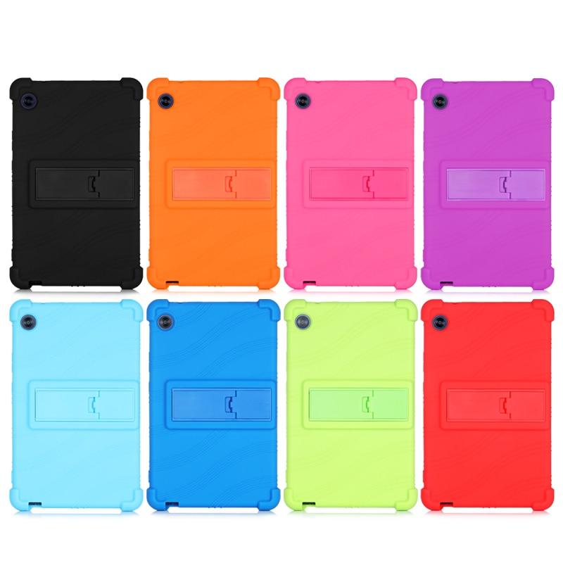 Силиконовый защитный чехол 8 дюймов для Huawei MatePad T8 Kobe2-L03 Kobe2 L03 Kobe2 L09 Tablet PC с 4 подарками