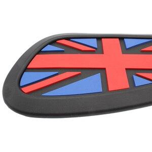 Image 4 - Motorrad Cafe Racer Gas Kraftstoff Tank Gummi Aufkleber Protector Mantel Knie Tank Pad Grip Aufkleber Die Union Jack Logo Universal retro