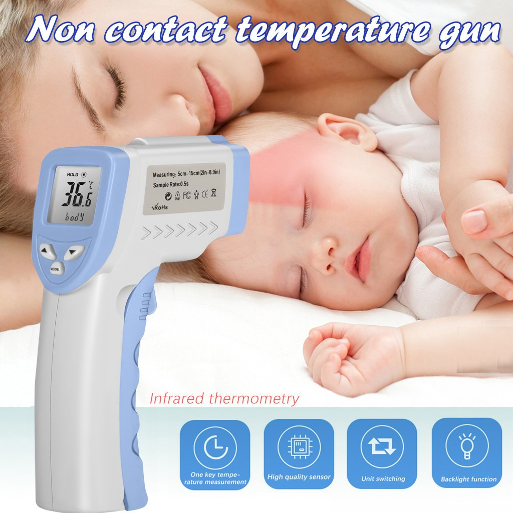 Non-contact Infrared Thermometer For Measuring Human Body Baby Care Adult Temperature High-Precision Temperature Measuring Tool