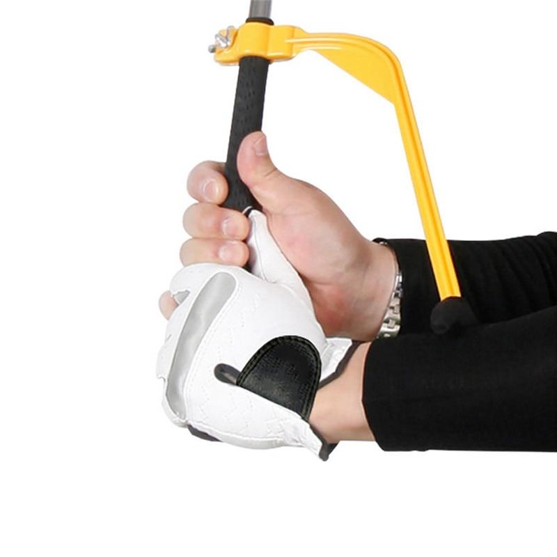 Golf Swing Trainer Golf Training Aid Swing Correcting Tool Golf Swing Wrist Gestures Positions Corrector Beginner Alignment Tool