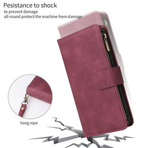 Image 2 - Multifunction Zipper Case for Coque Samsung Galaxy A21S A31 A51 A71 A50 A70 A40 A10 A41 A21 S A11 A01 A 71 51 A 31 21 Flip Cover