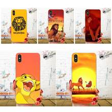 Soft Accessories Case For Huawei Honor Mate 7 7A 8 9 10 20 V8 V9 V10 G Lite Play Mini Pro P Smart Fashion The Lion King(China)