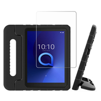 """screen film For Alcatel 3T 8"""" 9027W Alcatel T Mobile A30 8"""" 9024W 2019 Tablet Case EVA Shockproof Handle Protective Stand Cover+ Screen Film (1)"""