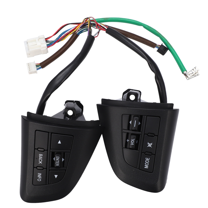 Car Styling Volume Mode Function Steering Wheel Control Button Control Switch for Mazda 3 2010 Cx 5 Cx 7|Steering Wheels & Steering Wheel Hubs| |  - title=