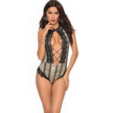 Сексуальный Змеиный женский бикини, кружевной, кожаный, цельный костюм, без рукавов, Холтер, пуш-ап, женский купальник, открытая спина, купальник