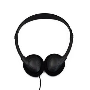 Image 2 - Auriculares estéreo con cable para ordenador sin micrófono, Auriculares deportivos para videojuegos, MP3, con cancelación de ruido, Universal