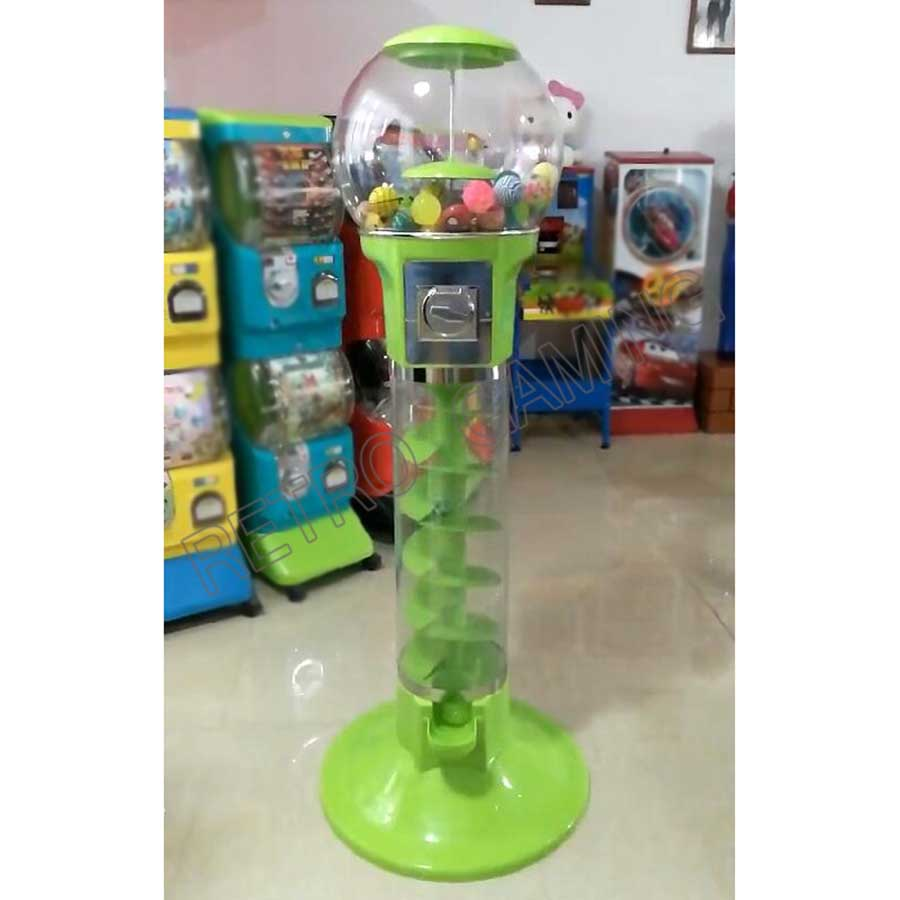 Coin Operated Slot Machine For Toys Vending Cabinet Capsule Chewing Gum Vending Machine Bouncy Ball Vendor Arcade Machine