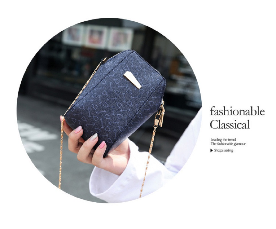 New Super Cute Mini Shell Phone Bag Presbyopia Shoulder Messenger Lady Bag Chain Small Bag