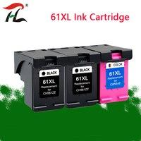 YLC 61XL substituição Do Cartucho De Tinta Recarregado para HP 61 XL para HP Deskjet 1000 1050 1055 2000 2050 2512 3000 J110a J210a J310a