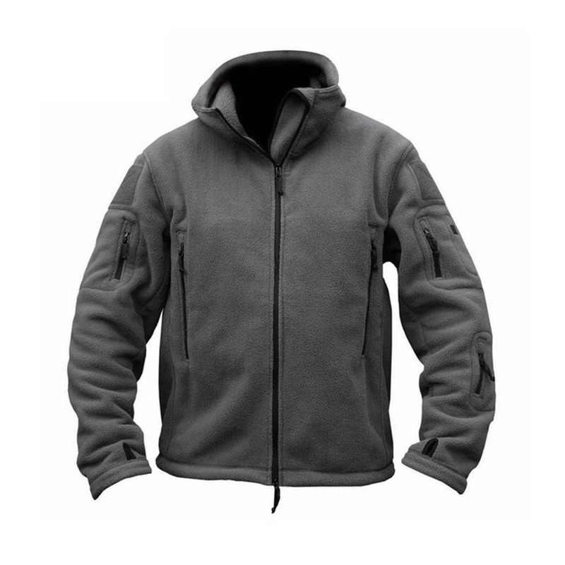 Мужские тактические куртки ZOGAA, флисовые военные куртки и пальто на весну и осень, теплая ветровка с капюшоном