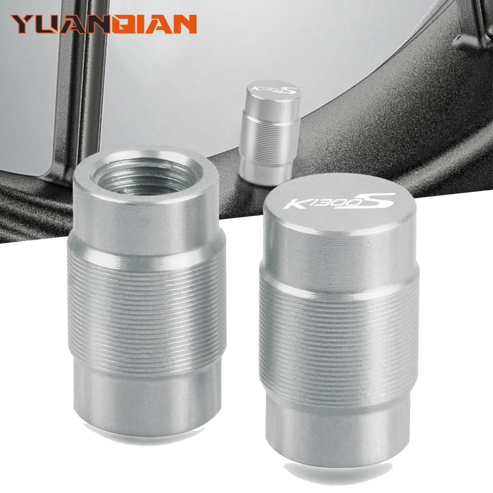 Motorcycle Accessories Couple Aluminum For BMW K K1300S S Vehicle Wheel Tire Valve Stem Caps Covers For Universal cycle image