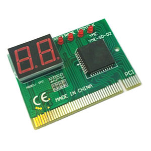 Image 4 - 2 haneli PC bilgisayar anakart hata ayıklama posta kartı analizörü PCI anakart test cihazı teşhis ekran masaüstü bilgisayar