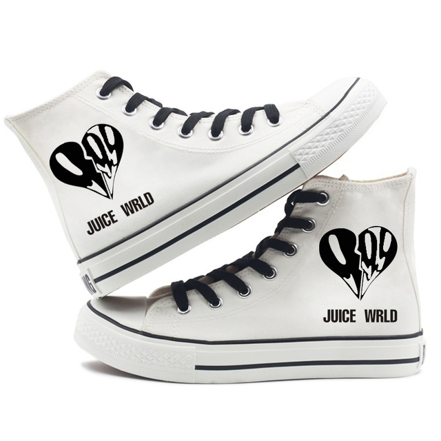 JUICE WRLD HIGH TOP SHOES (6 VARIAN)