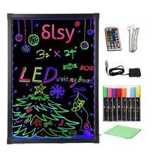 Светодиодный светящийся светильник с подсветкой, стираемая неоновая детская игрушка, светодиодный, обучающая игрушка