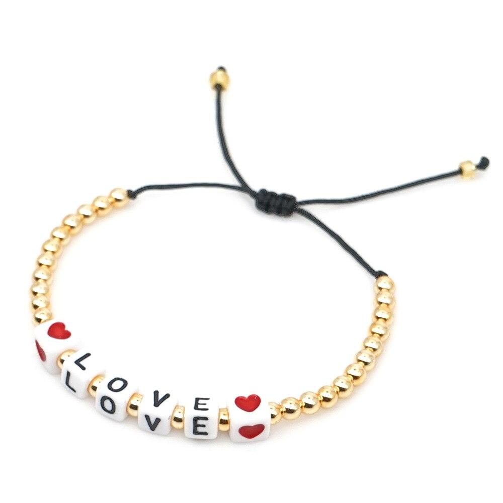 XUXI Simplicity Hand-woven Japan Rice Beads Bracelet 2020 Women LOVE, Love, Shell, Tassel, Ribbon, Kitten SS023