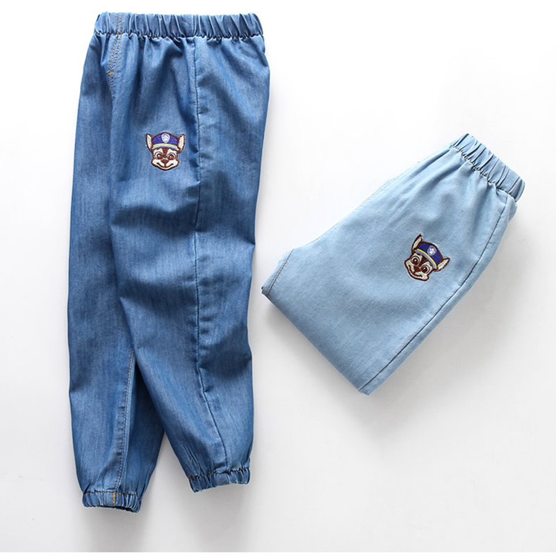Trousers Jeans Mosquito-Pants Pantstoddler Rippled Baby-Boys-Girls Kids Children Summer title=