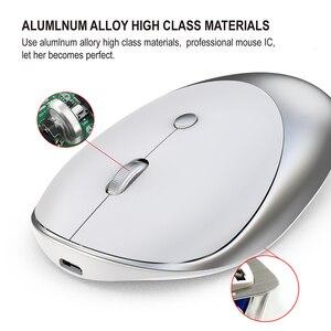 Image 2 - Jelly comb 3.0/5.0 mouse bluetooth, sem fio, recarregável, silencioso, mause, bluetooth, 2.4ghz, mouse usb para notebook portátil pc