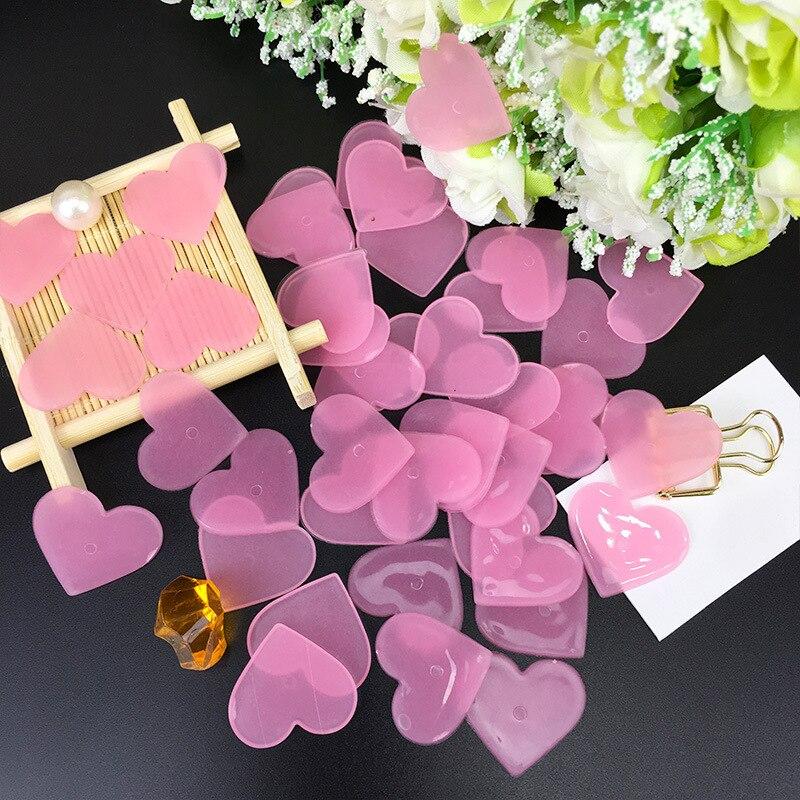 40 шт./упак. светящиеся наклейки на стену в форме сердца, высококачественные флуоресцентные светящиеся в темноте наклейки, игрушки для украш...