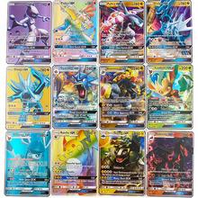 300 sztuk bez powtarzania karty Pokemon GX Shining TAKARA TOMY gry Battle Carte Trading zabawka dla dzieci tanie tanio POKEMON-123509 8 ~ 13 Lat 14 Lat i up Dorośli Chiny certyfikat (3C) Zwierzęta i Natura Fantasy i sci-fi