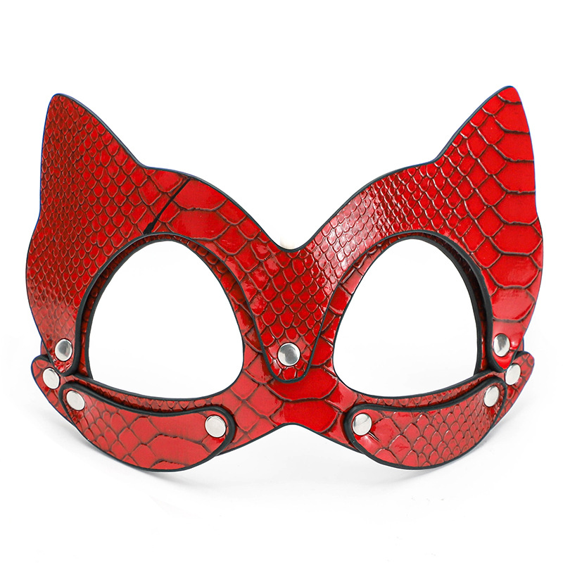 BDSM Fetish <font><b>Sex</b></font> <font><b>Toys</b></font> 2 Style Erotic <font><b>Cat</b></font> Mask Sexy Lingerie Eye Mask Cosplay Party Mask Slave Bondage Intimate Goods image