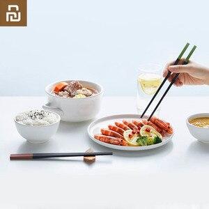 Image 5 - Mijia Youpin Yiwuyishen Rainbow Meal Alloy Chopsticks 5 Pair Stylish Beautiful New Materials Eliminate Mold Household Chopsticks