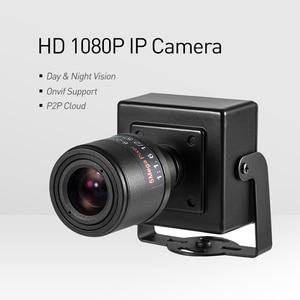 Image 2 - POE HD 1080P 6 22mm עדשת זום ידנית מיני סוג 2.0MP מקורה IP מצלמה אבטחת ONVIF p2P CCTV מצלמת מערכת