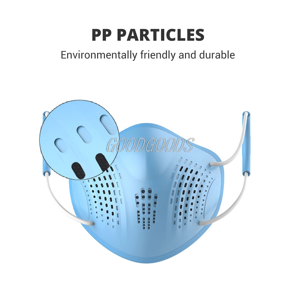 H6f1ce7f38684477e877ecdf3b9d7ccf0I Silicon Face Mask Dustproof Mask Facial Protective Cover Washable Masks Anti-Dust Bacteria Proof Facemask PM2.5 Pollution