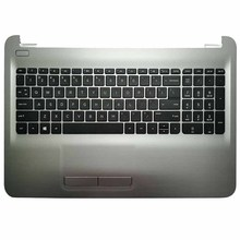 Laptop Keyboard Touchpad Palmrest US for 250/G4/15-ac/.. with Silver Upper-Cover