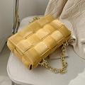 Женские сумки-конверты OLSITTI с плетением через плечо для женщин 2021 кожаные сумки-мессенджеры на цепочке женская сумка и кошелек