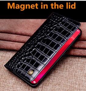 Image 4 - Sac à rabat magnétique en cuir véritable pour OnePlus 7T Pro/OnePlus 7 T/OnePlus 7 Pro/OnePlus 7 housse de téléphone coque socle