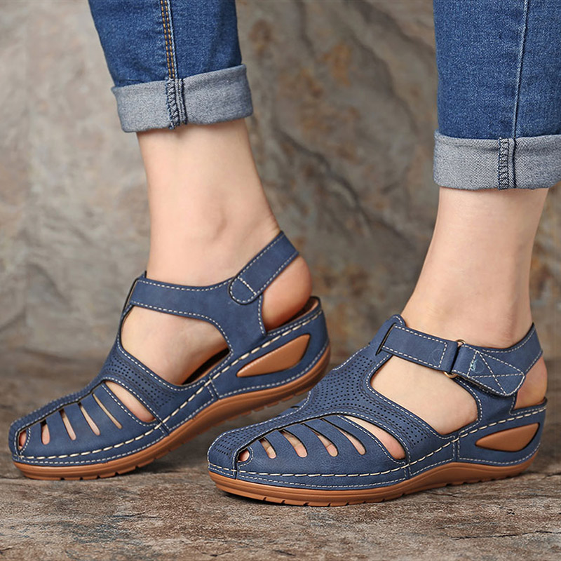 Women Sandals 2020 New Wedges Shoes for Women Summer Sandals Gladiator Casual Platform Sandals with Wedge Heels Sandalias Mujer 2
