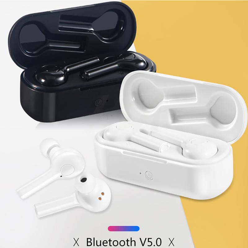 TWS Wireless Earphones for DOOGEE S40 S60 S70 S80 N10 N20 Y8 <font><b>X70</b></font> Blutooth Headphones Power Bank Charging Box Earbuds with Mic image