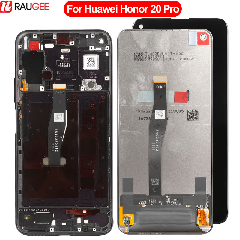Screen For Huawei Honor 20 Pro LCD Display Touch Screen New Digitizer Glass Panel Replacement For Huawei Honor 20 Pro Dispaly