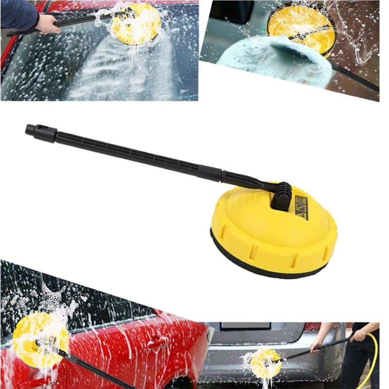 Yellow Rotary Pressure Washer Surface Cleaner Brush Floor for KARCHER K Series
