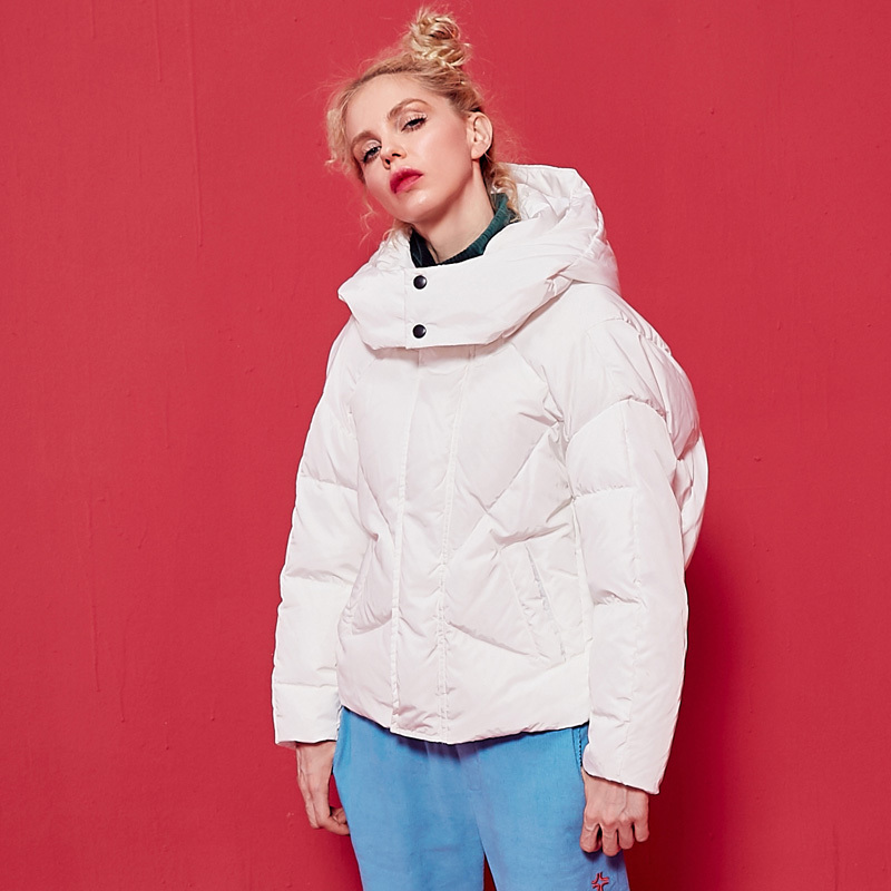 Down Size Winter Urltra-Light Plus Jacket Women 2020 New Fashion Warm Paragraph Bread Casual High Quality Ladies Coat YXR852