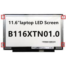 "116 ""b116xtn01 0 дюймов жк экран для ноутбука телефон тонкая"
