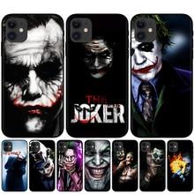 2019 film Joker Joaquin Phoenix soft Black silicone cover phone case for iPhone 11 Pro XS Max XR X 8 8Plus 7 7Plus 6 6S Plus 5S yimaoc hailee steinfeld ross soft silicone case for apple iphone 11 pro xr xs max x 10 8 plus 7 6s 6 plus se 5s 5 7plus 8plus