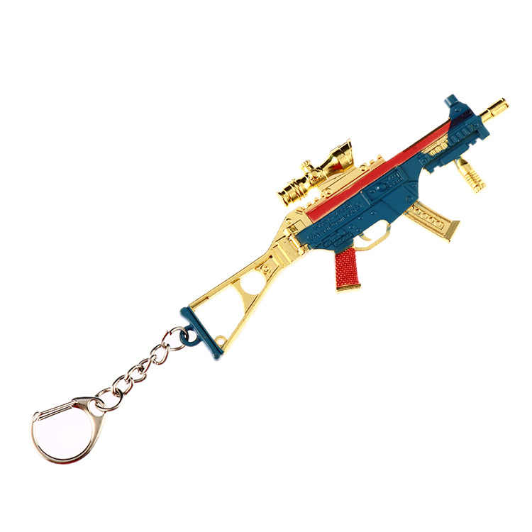 2019 новая игра PUBG CS GO брелоки в виде оружия брелок M16 AK47 металлический кулон снайперский брелок для ключей на цепочке Ювелирные Изделия Сувенир 12 см Горячая