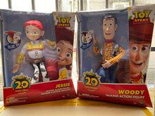 35cm novo estilo brinquedo-história buzz lightyears falando figura woody e jessie figura de ação pvc melhor presente de brinquedo para crianças