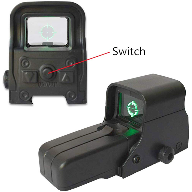 Red Dot Paintball Airsoft Armas Speelgoed Pistool Sight Aim Dot Sight Groen Dot Water Glock Dot Serie Rifle Scope Speelgoed nauwkeurigheid Verbeteren