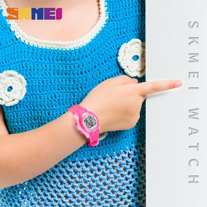 SKMEI Дети Часы Мальчики 2 Время Водонепроницаемый Хронограф Дети Часы Дата Неделя Ребенок Часы Дети Мальчик Часы Мода Креатив 1478