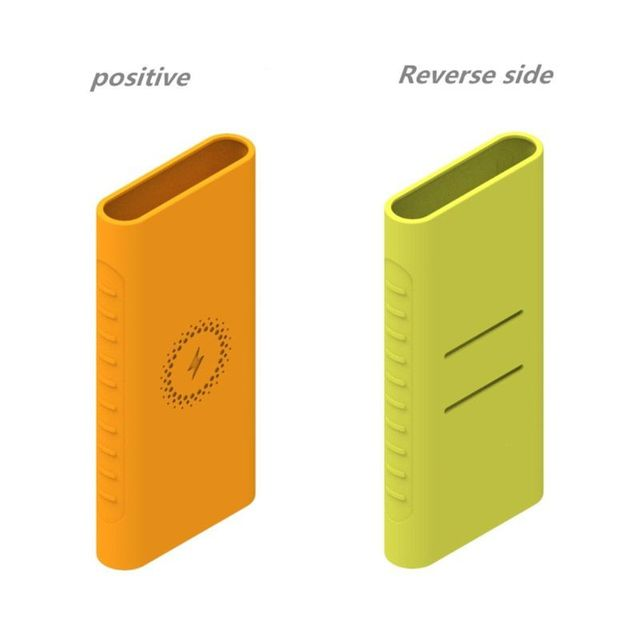 New Silicone Protector Case For xiao mi powerbank 10000mAh PLM11ZM Wireless Powerbank Accessories Case WPB15ZM and PLM13ZM Case 3