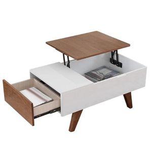 Image 2 - Les meubles se pliants de charnière de Table de thé de ressort soulèvent létagère de support de levage de matériel de mécanisme supérieur pour la table dordinateur de café