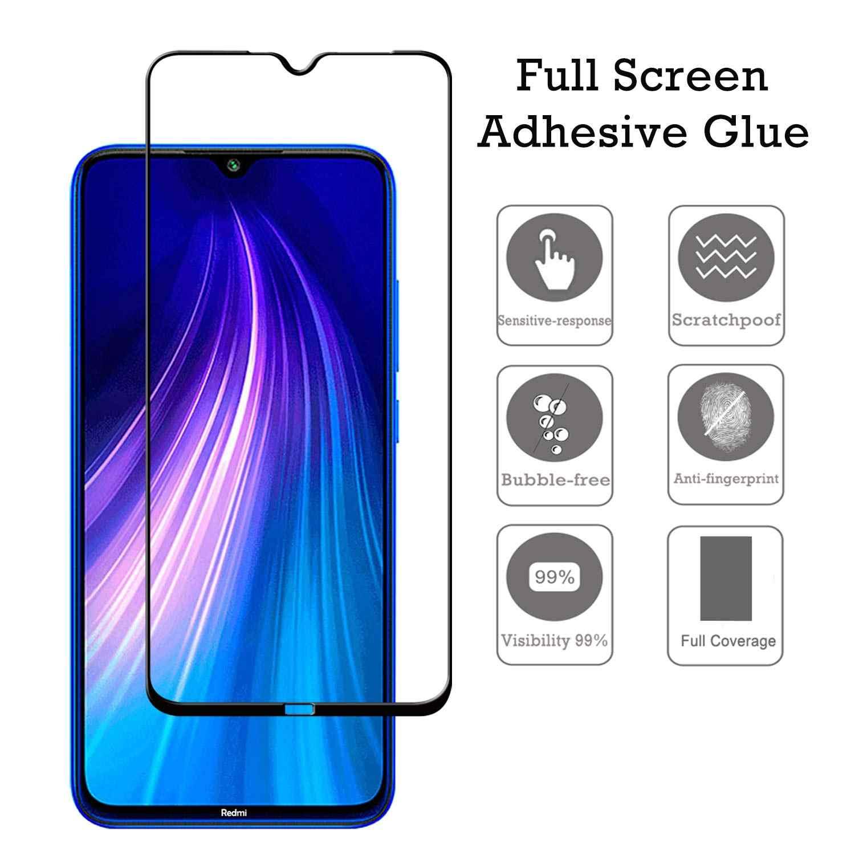 2 w 1 9D obiektyw telefonu szkło ochronne na ekran Protector dla Redmi 8A szkło hartowane dla Xiaomi Redmi 8