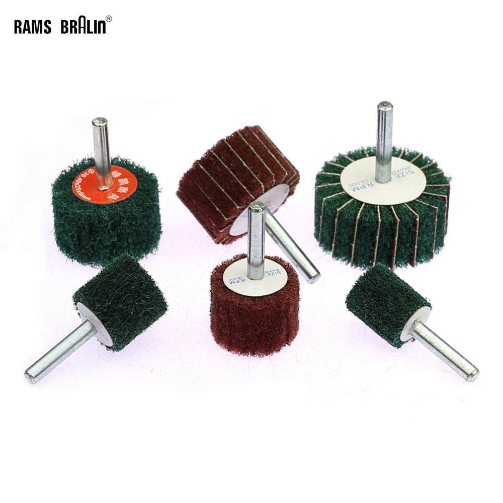 1 Piece Non-woven Grinding Head For Metal Wood Plastic Wire Drawing