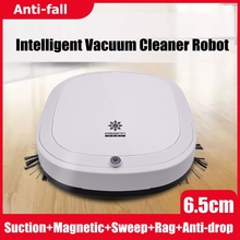 Anti-drop Intelligent Vacuum Cleaner Robot Strong Suction Dry Wet Sweeping Cordless Auto Dust Sweeper Machine for Home Cleaning цена и фото