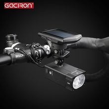 Mountain-Bicycle-Light Gaciron Intelligent Front Rechargeable USB for Race Waterproof