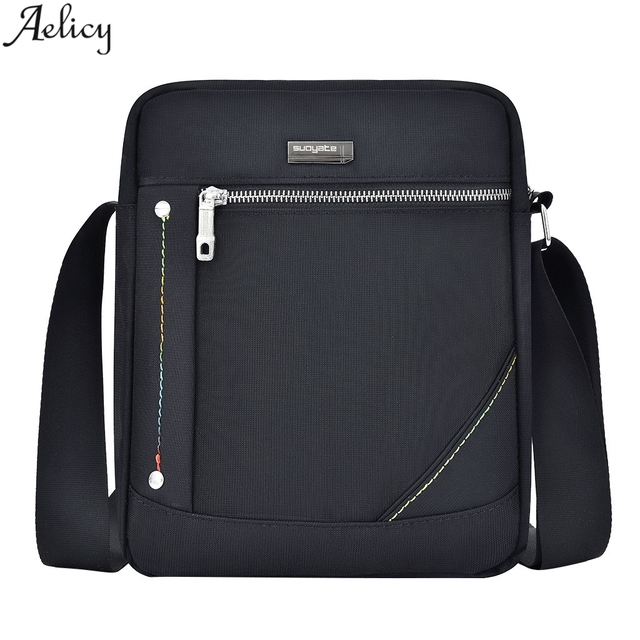 Stylish nylon multifunctional casual waterproof ultra-light crossbody bag
