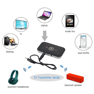 Image 3 - Upgrade B6 Bluetooth 5.0 Transmitter Receiver Wireless Audio Adapter For PC TV Headphone Car 3.5mm 3.5 AUX Music Receiver Sender