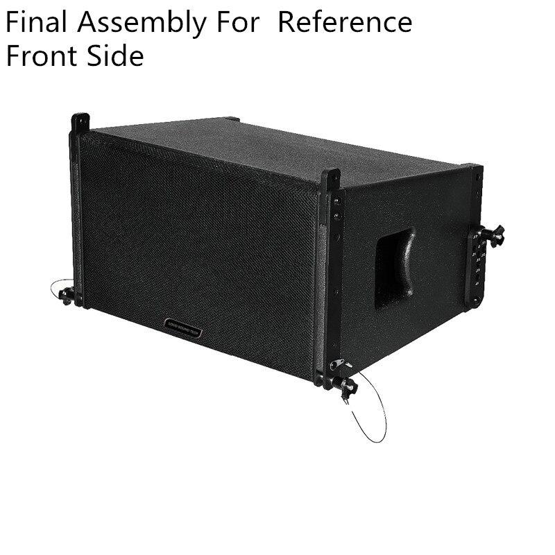 Finlemho DJ динамик линейный массив кабинет аксессуары ver10 Профессиональное аудио 10 дюймов НЧ-динамик для сабвуфера консольный микшер аудио